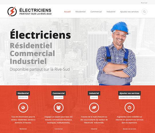 Électricien Rive-Sud pour comparer les prix