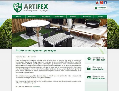 Artifex aménagement paysager : paysagiste sur la Rive-Sud et à Montréal