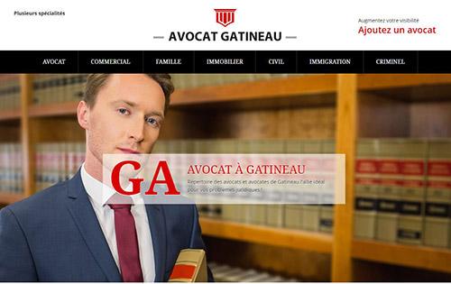 Avocat à Gatineau : répertoire des avocats et avocates de Gatineau