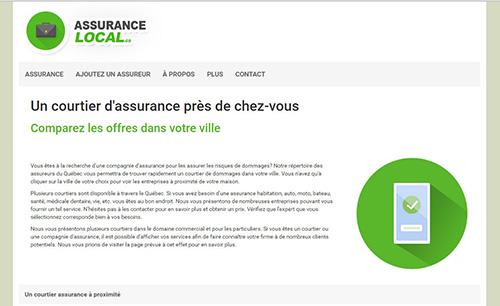 Assurance Local : trouvez un coutier d'assurance ou une compagnie d'assurance