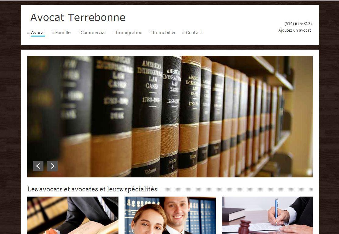 Avocat à Terrebonne : répertoire des avocats de Terrebonne