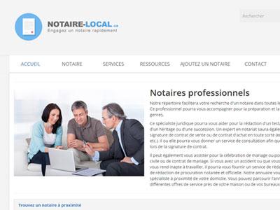 Notaire Local : trouvez un notaire
