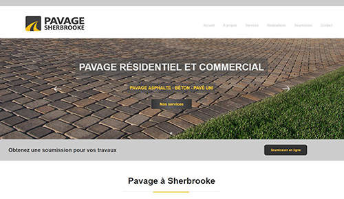 Pavage Sherbrooke trouvez l'entreprise qu'il vous faut