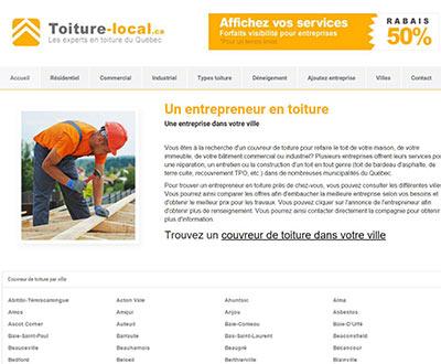 Toiture local : un entrepreneur en toiture